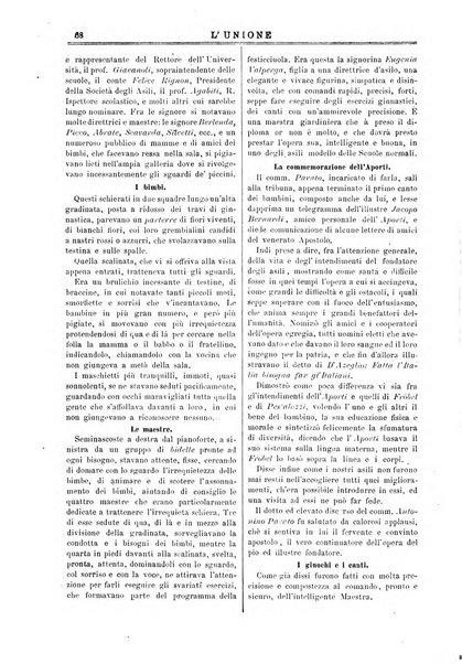 L'unione giornaletto didattico-politico degl'insegnanti primari d'Italia