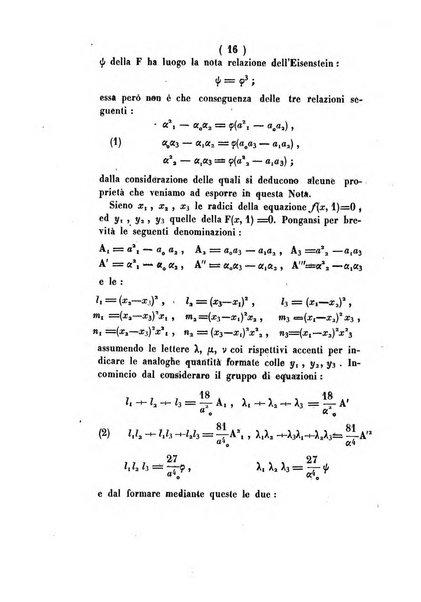 Annali di scienze matematiche e fisiche