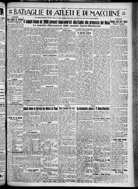 L' impero : quotidiano politico