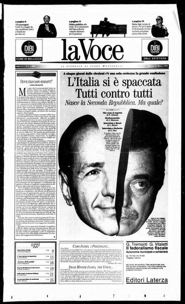 La voce : il giornale di Indro Montanelli