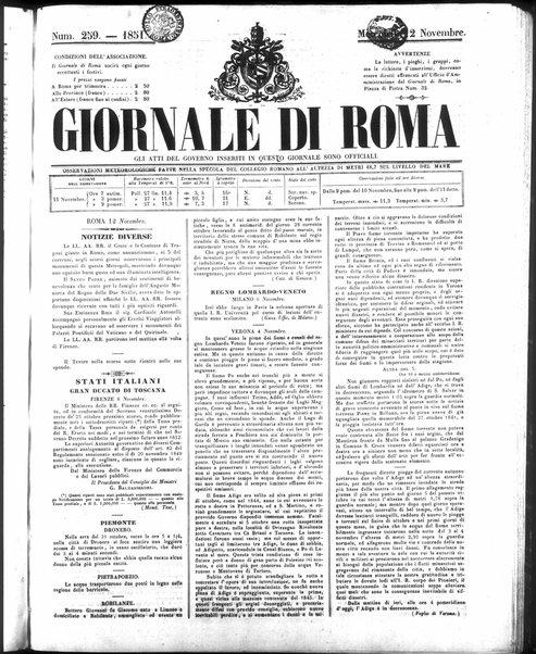 Giornale di Roma