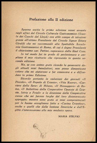 Cucina triestina : metodo e ricettario pratico economico / Maria Stelvio