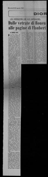 """""""La leggenda di San Giuliano"""". Dalle vetrate di Rouen alle pagine di Flaubert"""