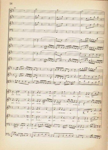 Magnificat D-dur : BWV 243 / Johann Sebastian Bach ; herausgegeben von Alfred Dürr