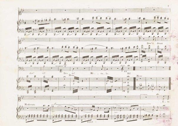 Lucrezia Borgia : melodramma tragico di Felice Romani / posto in musica dal maestro Gaetano Donizetti