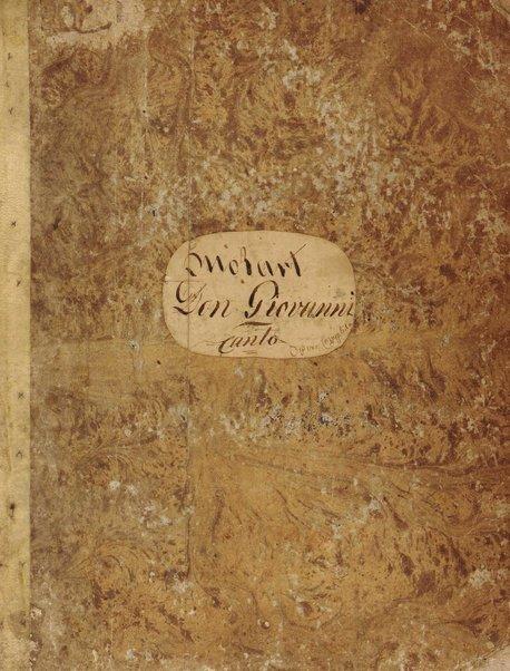 Partition di Don Giovanni / musique de Mozart