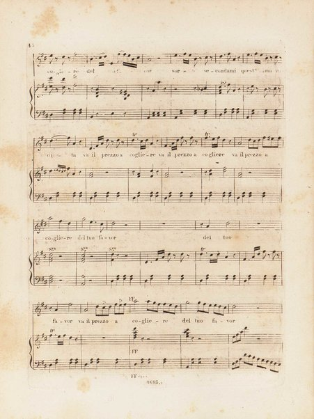 Partizione della Zelmira : opera seria in due atti / musica di G. Rossini