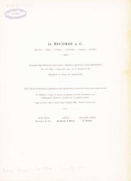 Anton : prologo, due parti ed epilogo / libretto di Luigi Illica ; musica di Cesare Galeotti ; riduzione per canto e pianoforte dell'autore