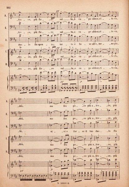 Lucia di Lammermoor : dramma tragico in tre atti : opera completa per canto e pianoforte / di Gaetano Donizetti